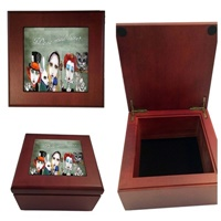 Alice In Wonderland Wood Box