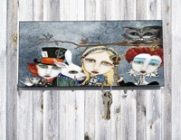 Alice In Wonderland Key Holder