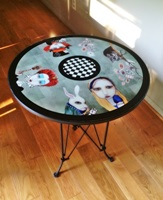 Alice In Wonderland Table