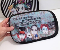 Alice In Wonderland Cosmetic Bag Large