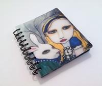 Alice In Wonderland Spiral Notebook/Diary