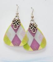 Lemons and Grapes Earrings