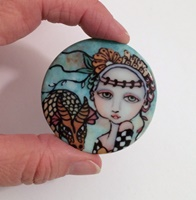 Beauty and The Beast 2 inch round