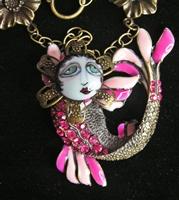 Berry Luscious Mermaid SNOOKS Necklace