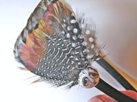 Brown SNOOKS Feather Headband