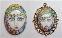 Painted Lady Cameo 1