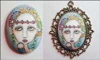 Painted Lady Cameo 2