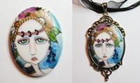 Painted Lady Cameo 29