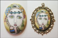 Painted Lady Cameo 4