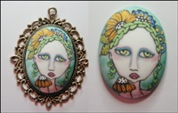 Painted Lady Cameo 5