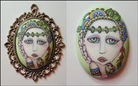 Painted Lady Cameo 6