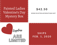 Valentine's Painted Lady Mystery Box
