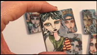 Painted Lady Dominoes