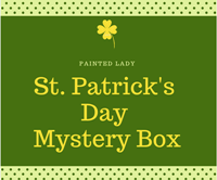 Painted Lady Saint Patty's Day Mystery Box