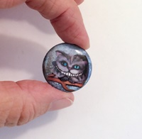 Cheshire Cat 1 inch Cab with Magnet