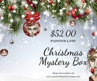 Painted Lady Christmas Mystery Box 2020