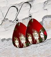 Sugar Plum Fairies Guitar Pick Earrings