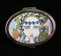 Garden Friends Compact Mirror