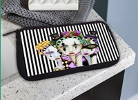 Harlequin Ladies Cosmetic Bag