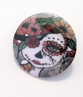 Day Of The Dead 18 Button