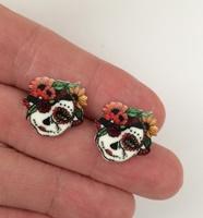 Day Of The Dead 17 Earrings