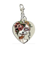 Day Of The Dead 19 Zipper Pull Purse Charm