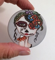 Day Of The Dead 20 2 inch round