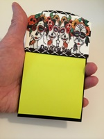 Day Of The Dead Sticky Note Holder