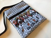 Day Of The Dead Crossover Purse