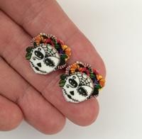 Day Of The Dead 10 Earrings