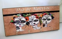 Day Of The Dead Key Holder