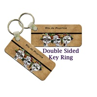 Day Of The Dead Key Tag