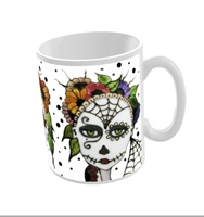 Day Of The Dead Mug Two