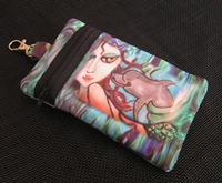 Mermaid and Dolphin Cell Phone Bag