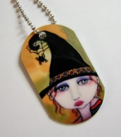 Don't Bug Me Dog Tag Necklace