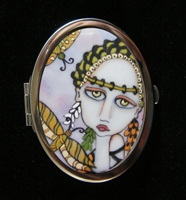 Dragonfly Enchantress Compact Mirror