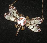 Gypsy Dragonfly SNOOKS Necklace