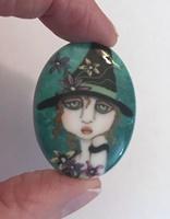 Emerald Spring cameo