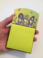 Fairies Sticky Note Holder