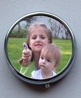 Personal Photo Pill Box