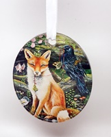 Foxy Friends Ornament