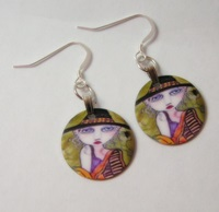 Friends Of The Night Charm Earrings