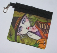 Friends Of The Night Zippered Pouch