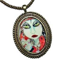 Gypsy Cameo Necklace