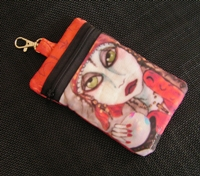 Gypsy Fortuneteller Cell Phone Bag