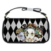 Harlequin Shoulder Bag