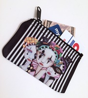 Harlequin Ladies Coin Purse