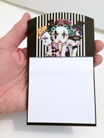 Harlequin Ladies Sticky Note Pad