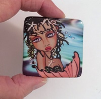 Jamaican Beauty 2 inch square