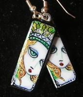 Lady Image Earrings